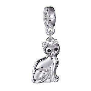 Cherished memories pet lover charm-cat